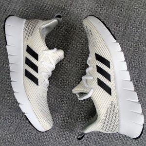 Adidas Asweego White Black Shoes Size 7 NWOT!